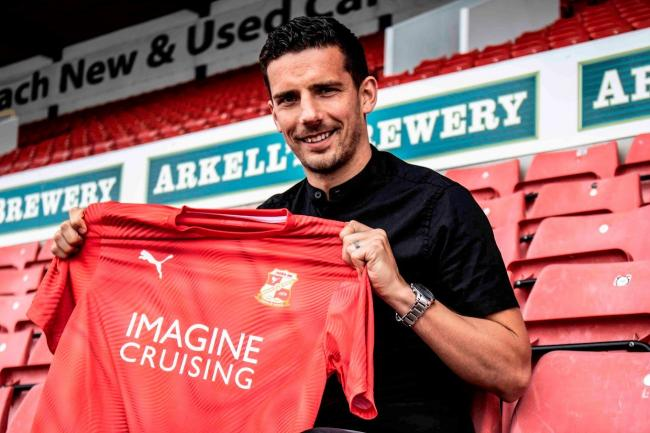 Mathieu Baudry has signed for Swindon Town on a free transfer. PICTURE: SWINDON TOWN