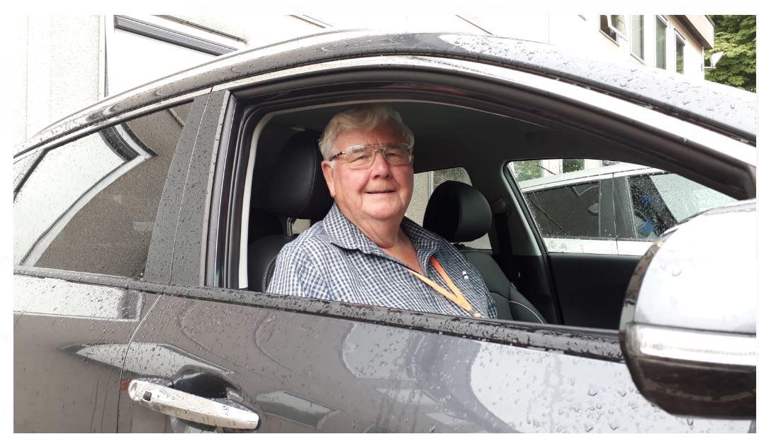 Councillor embraces electric car revolution