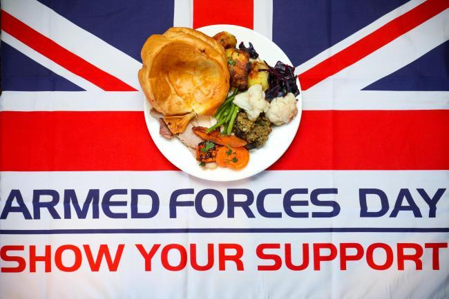 Troops and veterans can get a FREE Toby Carvery this month (and here's how)