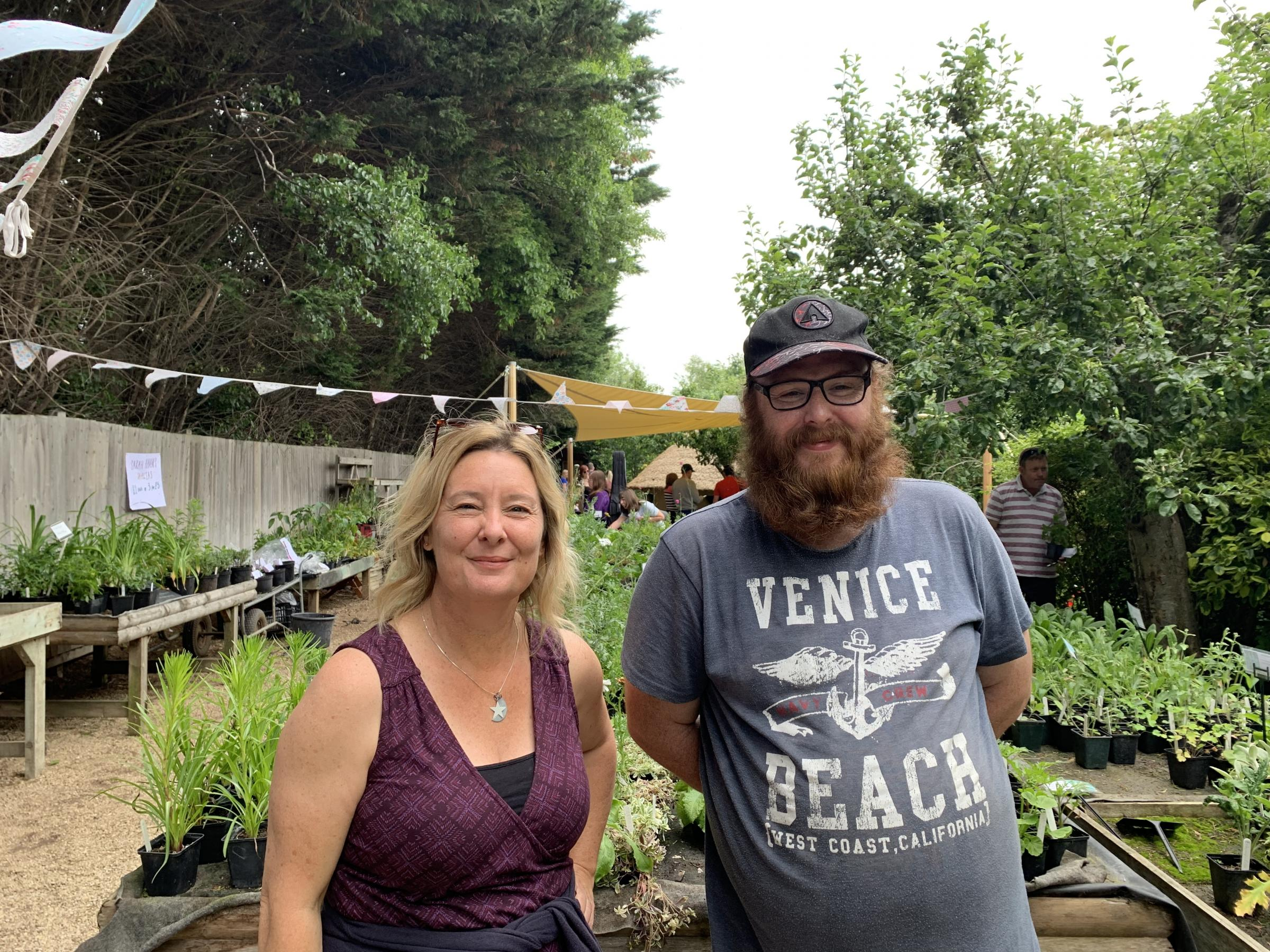 Busy open day for TWIGS community gardens