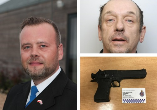 Swindon PCSOs recall the moment they disarmed Old Town 'gunman'