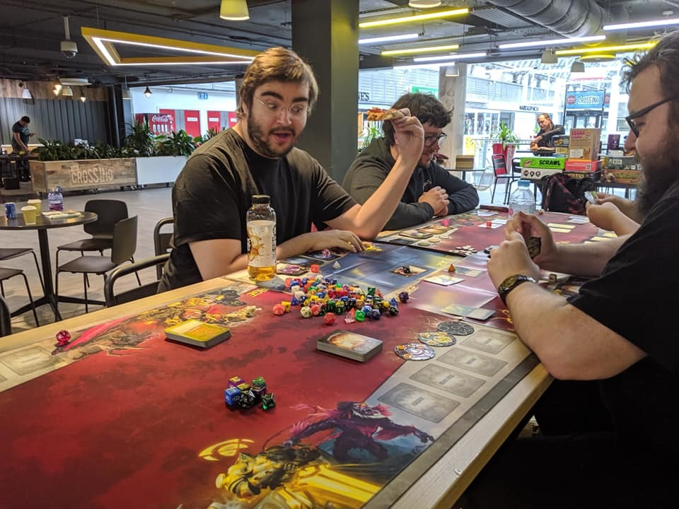 Brunel Centre plays host to board gaming night