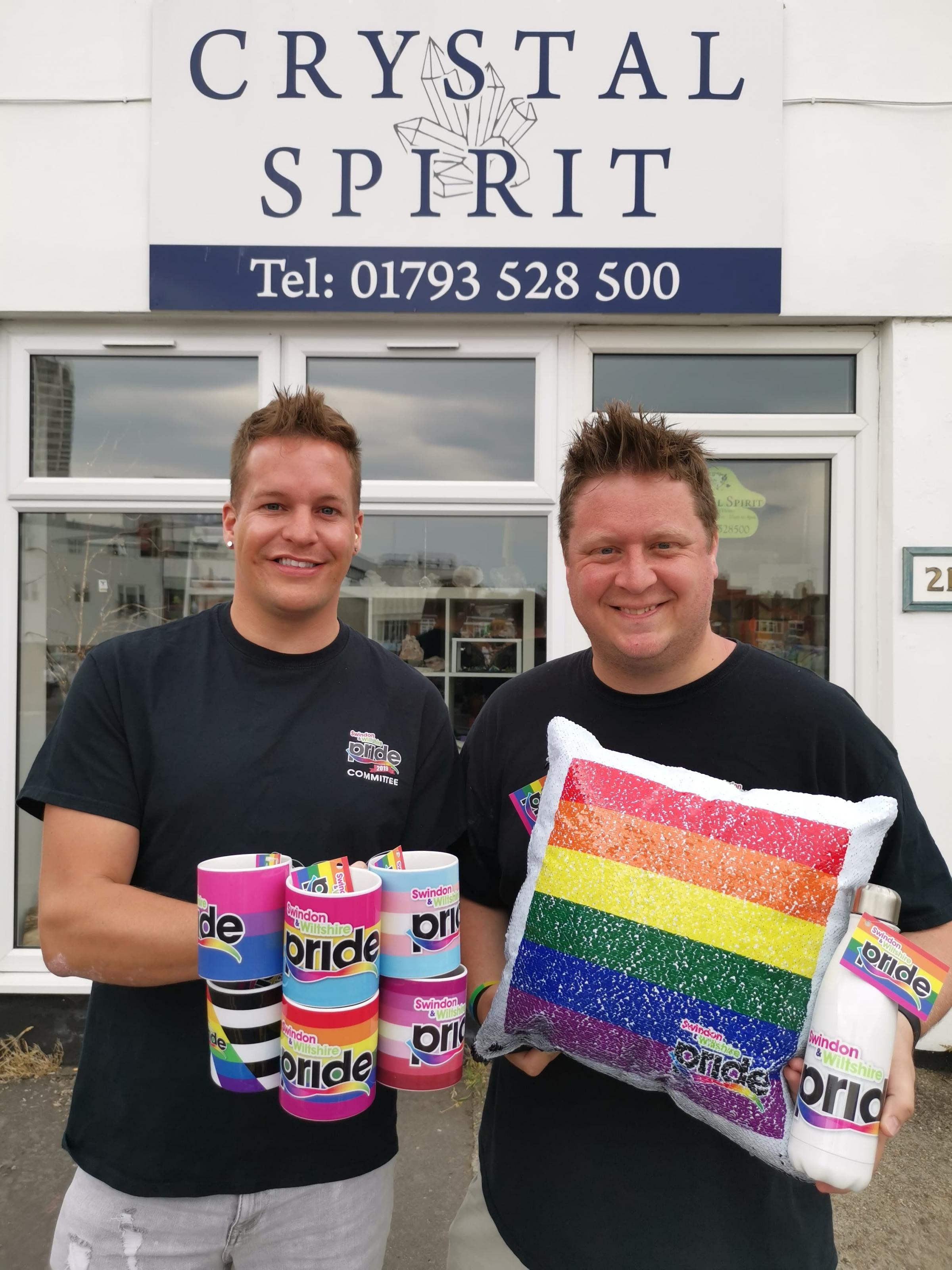 New range of merchandise launched for Swindon and Wiltshire Pride 2019