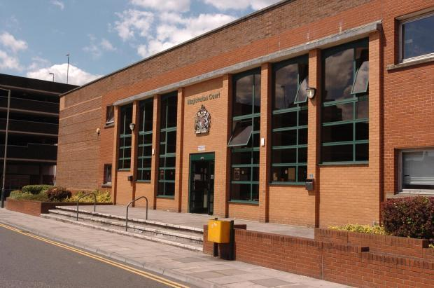 Swindon 'blackmailer' is said to have robbed sword, court hears