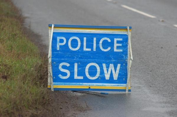 A361 blocked after lorry overturned
