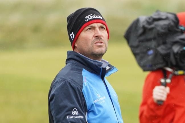 David Howell narrowly missed out on landing a place at the Open on Tuesday