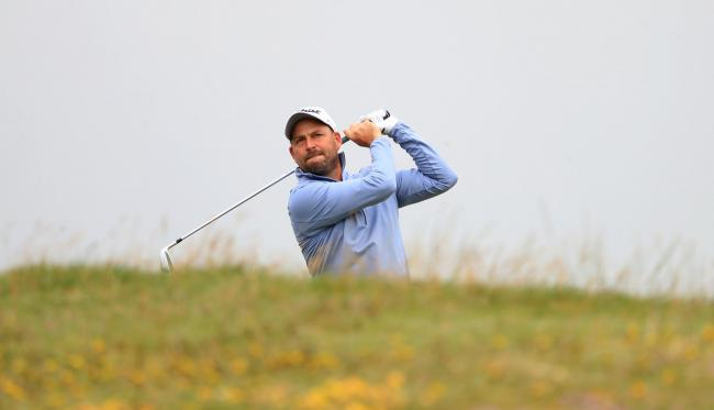 England's David Howell during day two of the 2019 Dubai Duty Free Irish Open at Lahinch Golf Club..