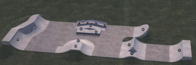 Skate park plans for Highworth