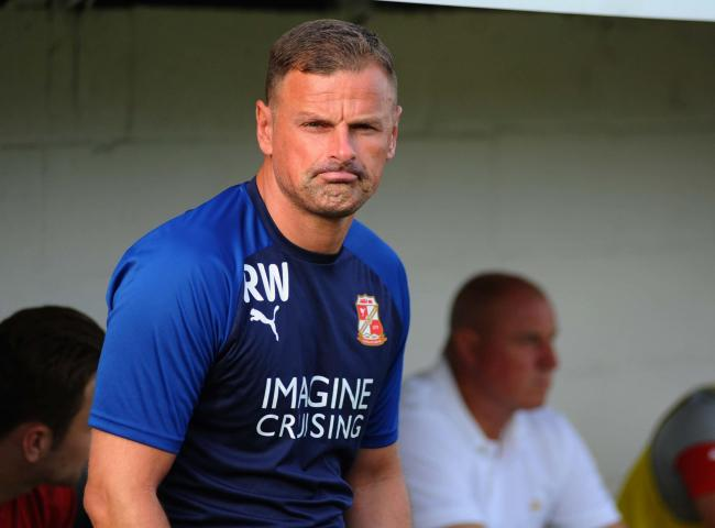 Swindon Town boss Richie Wellens. Picture: Dave Evans