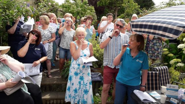 Tuneless Choirs raise money for Wiltshire Mind