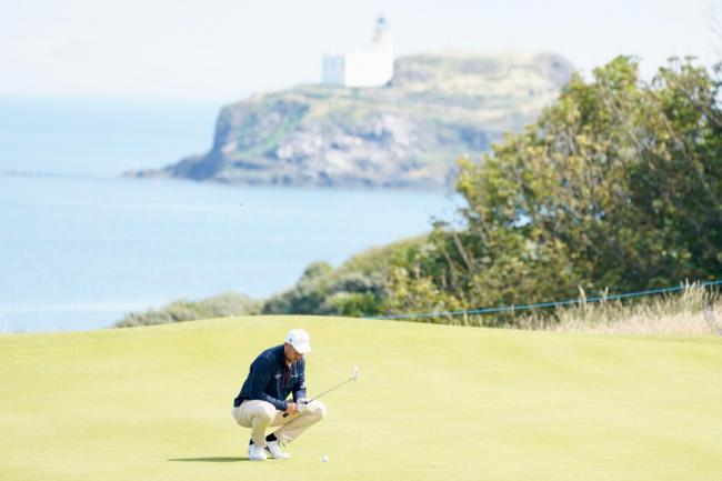 Swindon golfer David Howell at the Scottish Open this week. PICTURE: ANDY CROOK