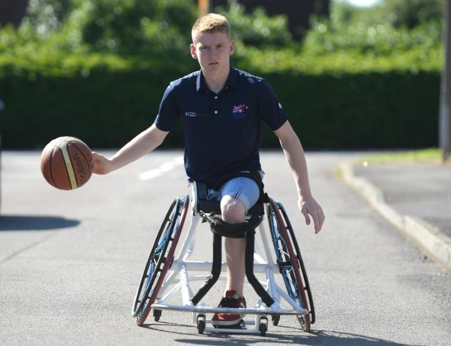 Swindon's Ben Fox is in the Great Britain squad for the European Wheelchair Basketball Championships