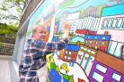After being asked by Artsite to head the Theatre Square mural project, Billy Beaumont saw an ideal opportunity for community participation