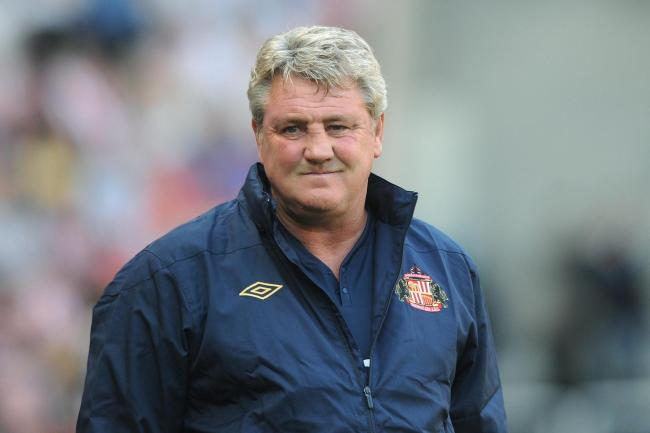 Steve Bruce spent just over two seasons in charge of Sunderland