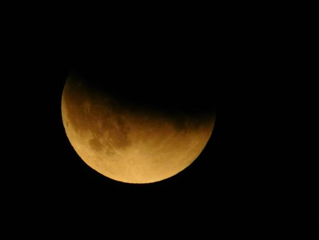 My picture of the lunar eclipse