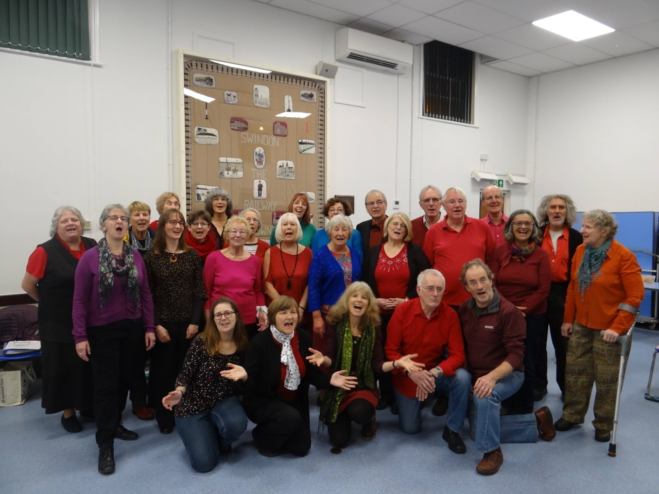 Sing the natural way with the Swindon Community Choir