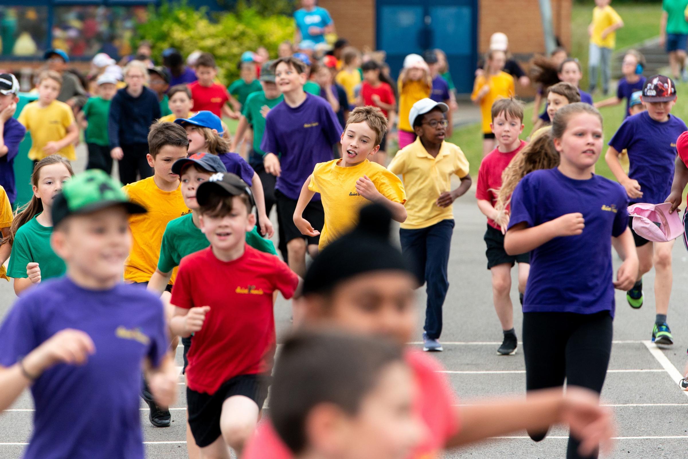 Run-away success at the school