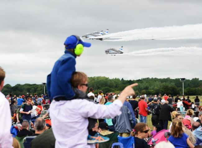 Will wet weather cause a washout at Air Tattoo?