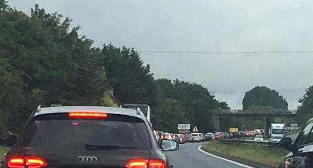 AIR TATTOO DAY 2: Traffic jams already building around the site
