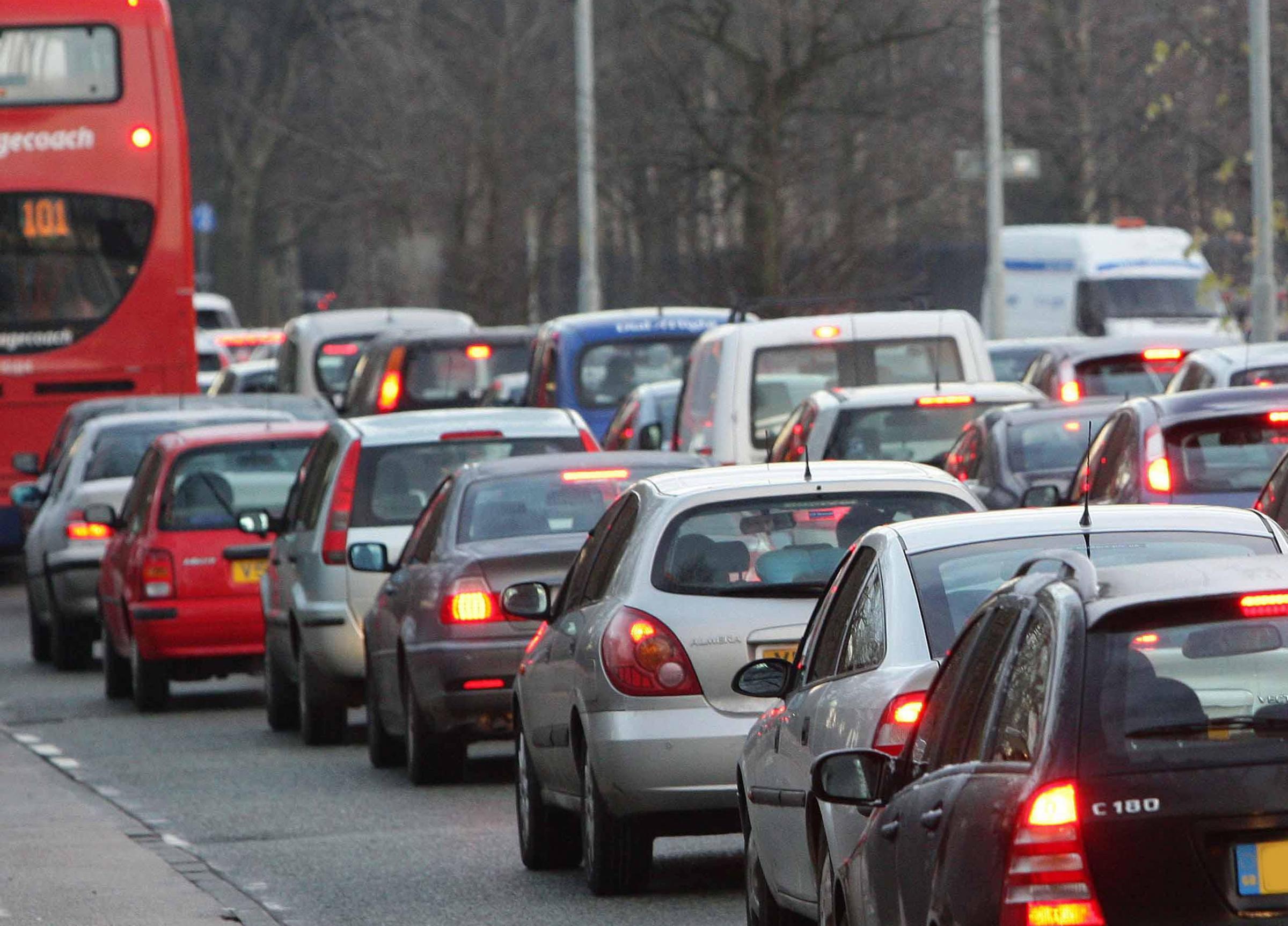 Traffic update from Swindon's roads on Wednesday morning