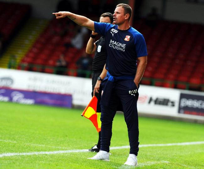 STFC v Coventry City      Pic Dave Evans   27/07/2019.The man in charge, Richie Wellens.