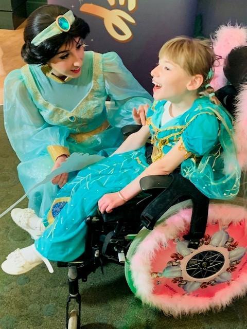 Jasmine's Disney dream comes true with Make A Wish Foundation