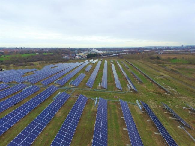 Barnfield Solar Park saves council £185,000 in energy costs