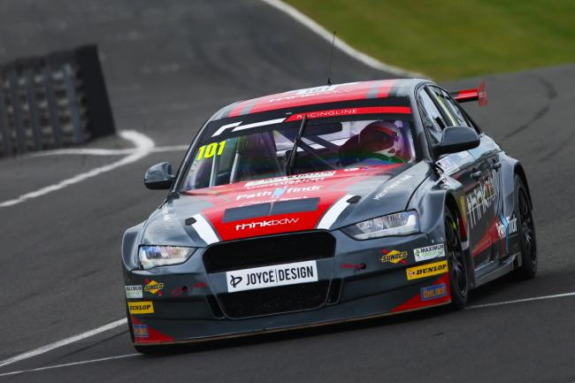 HMS Racing in action at Brands Hatch. PICTURE: HMS RACING