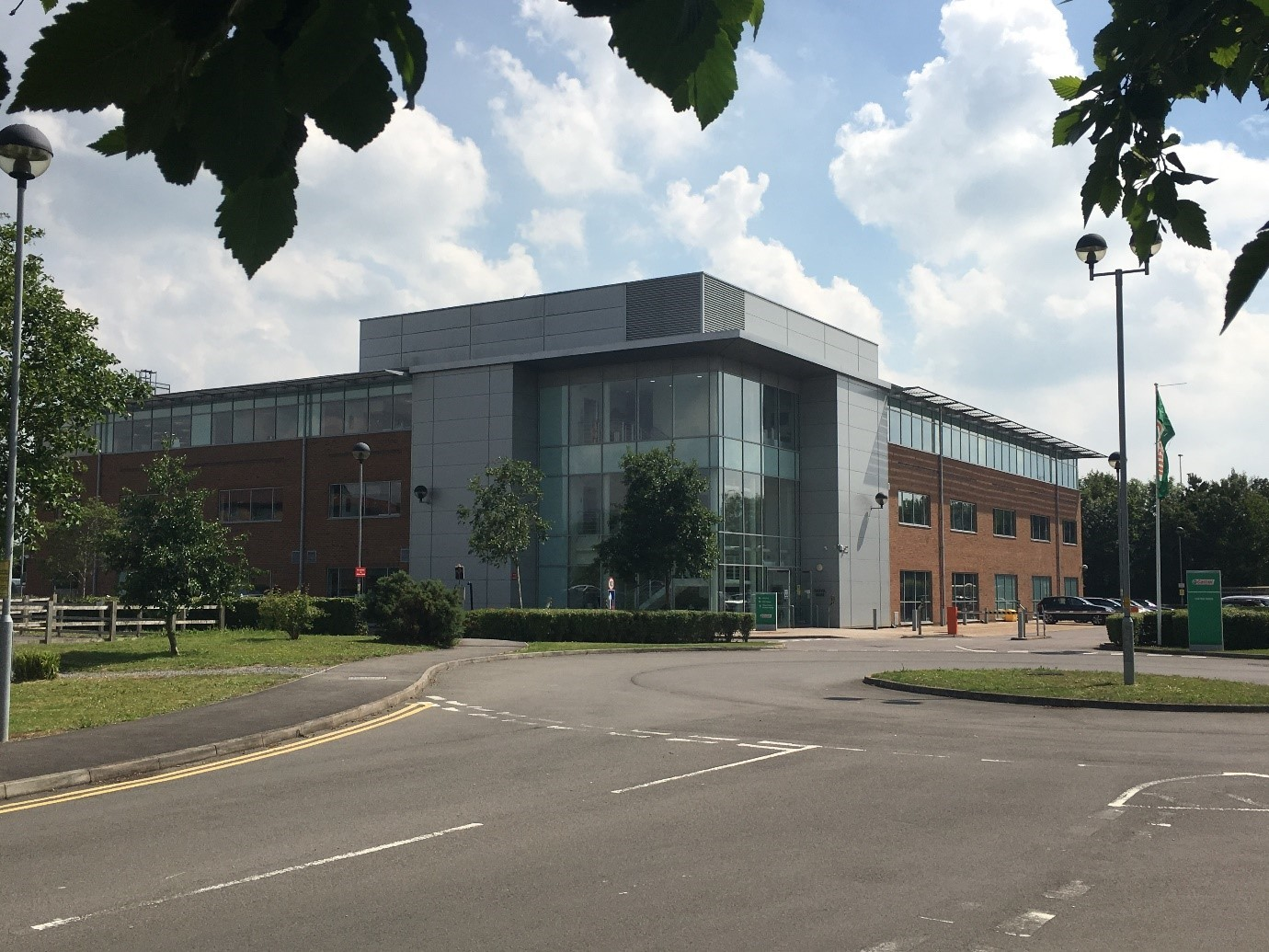 Former BP Castrol offices in Lydiard Fields bought by financial company