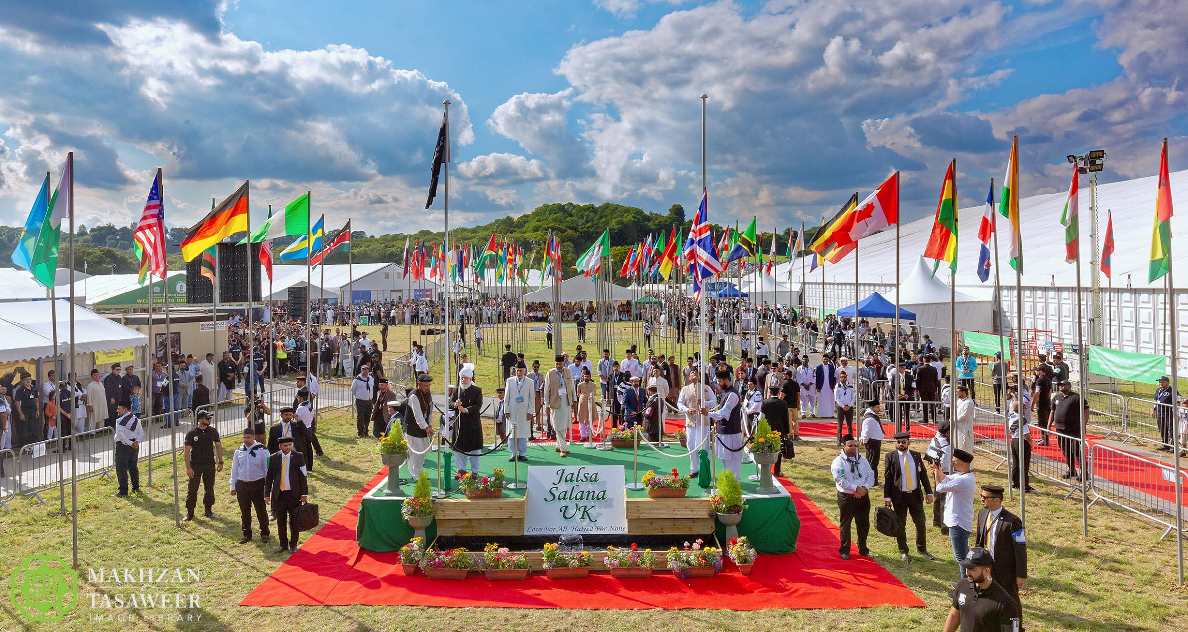 Swindon group attends UK's biggest Muslim convention
