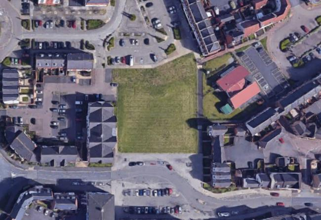 The green space at the centre of the picture could be kept open