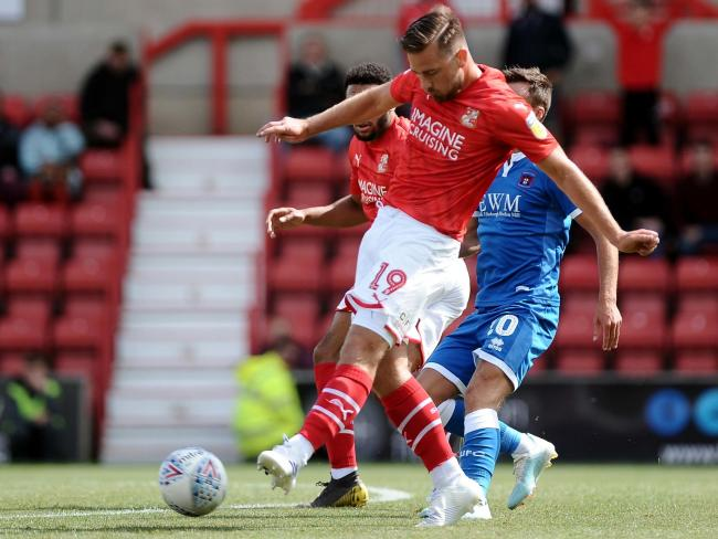 Jordan Lyden joined Swindon Town on a free transfer this summer