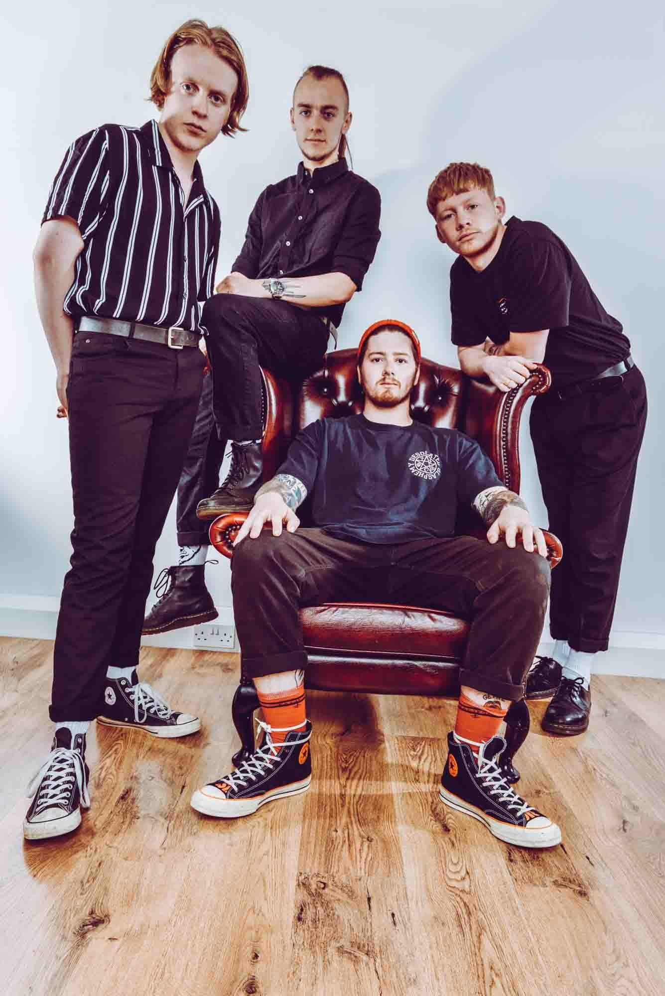 Local band GETRZ delight at support from Swindon Town