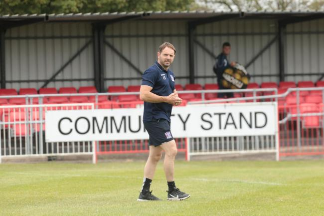 Swindon Supermarine manager Lee Spalding. PICTURE: JEFF YOUD
