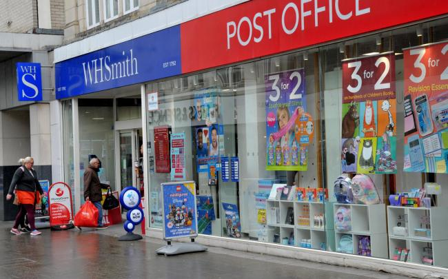 WHSmith urges the government to change tax rules. Picture: DAVE COX