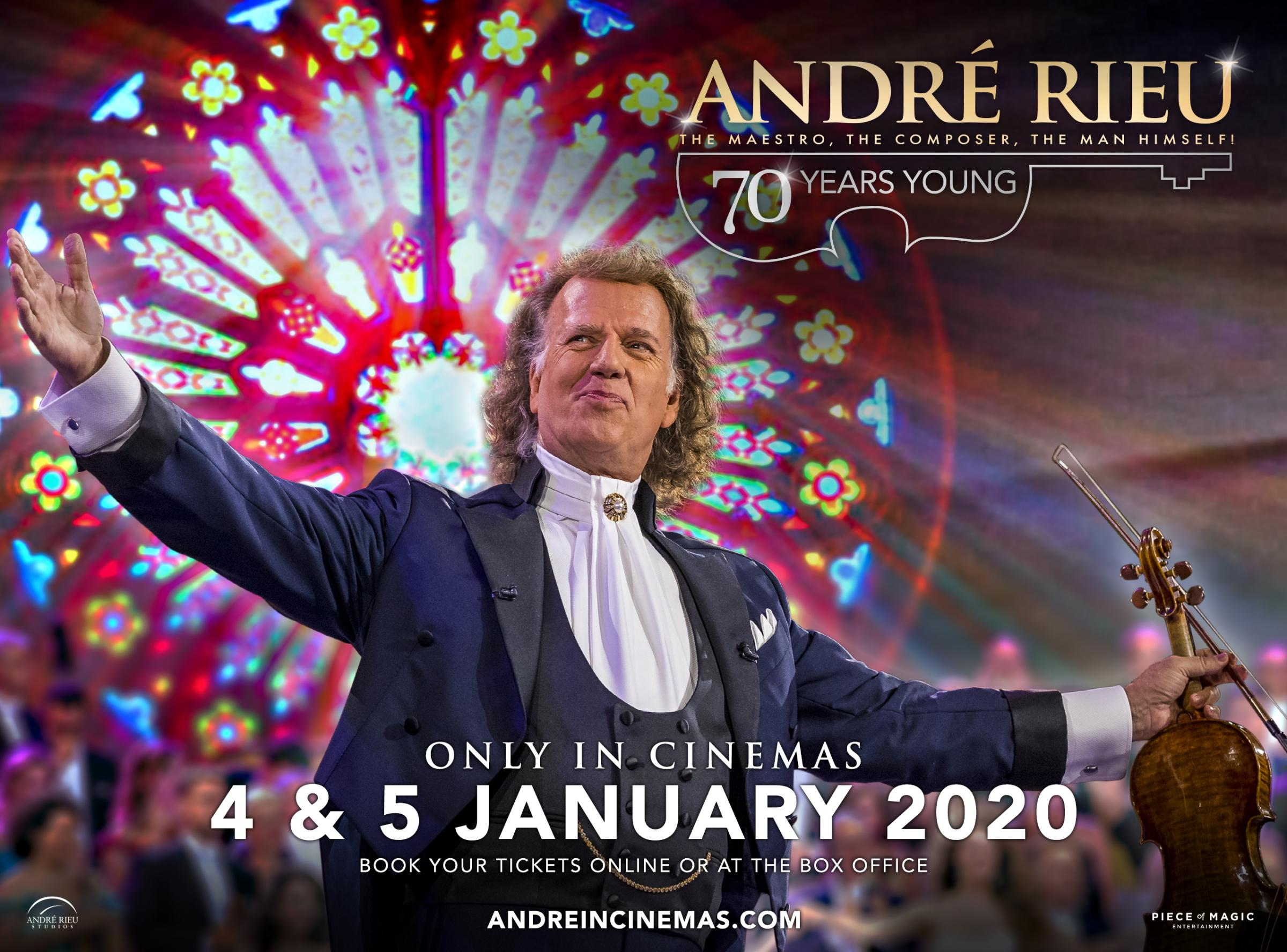 André Rieu: 70 Years Young (as Live)