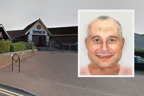 Flasher exposed himself to 12-year-old girls behind Swindon bowling alley