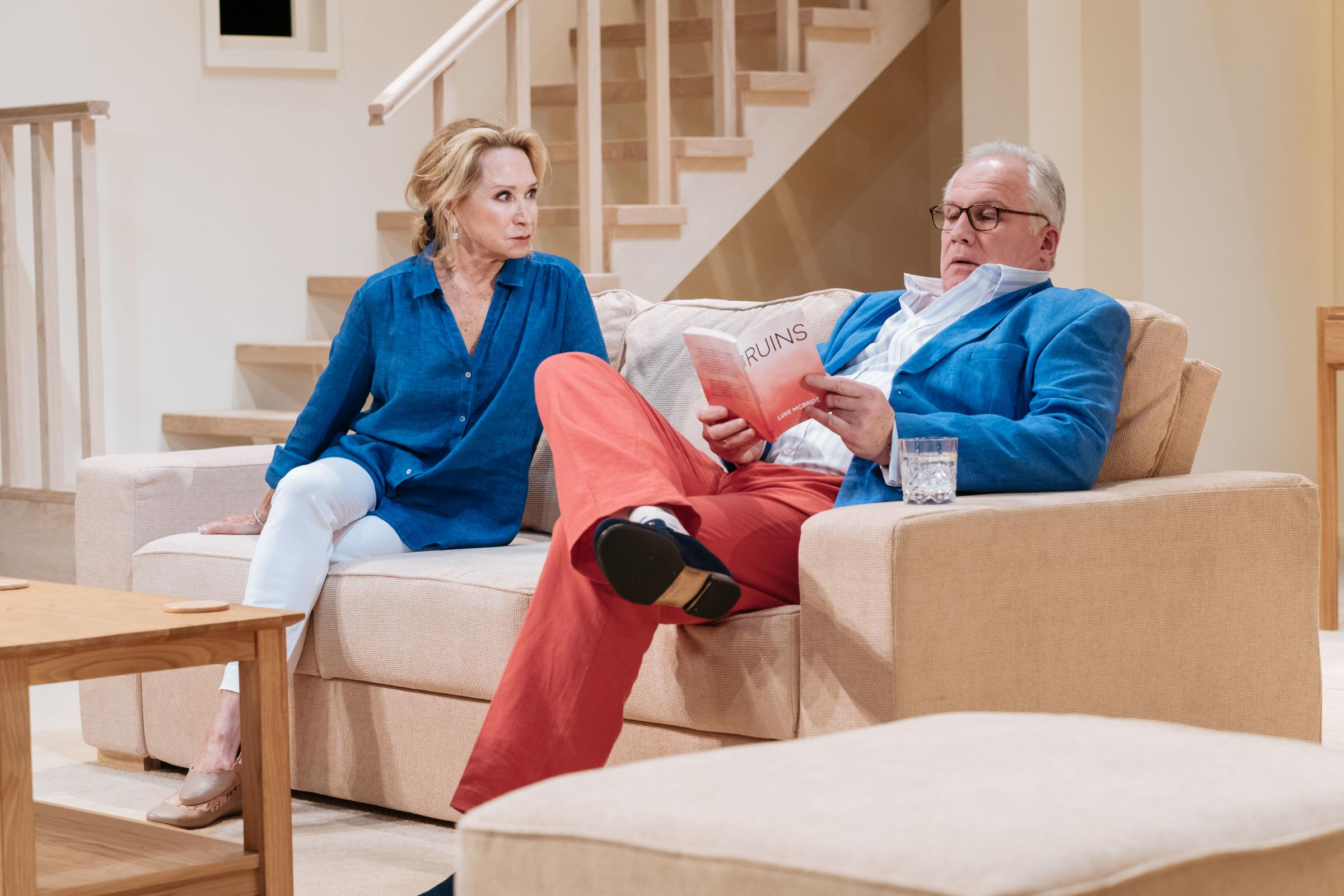 Theatre review: The Argument, starring Felicity Kendal