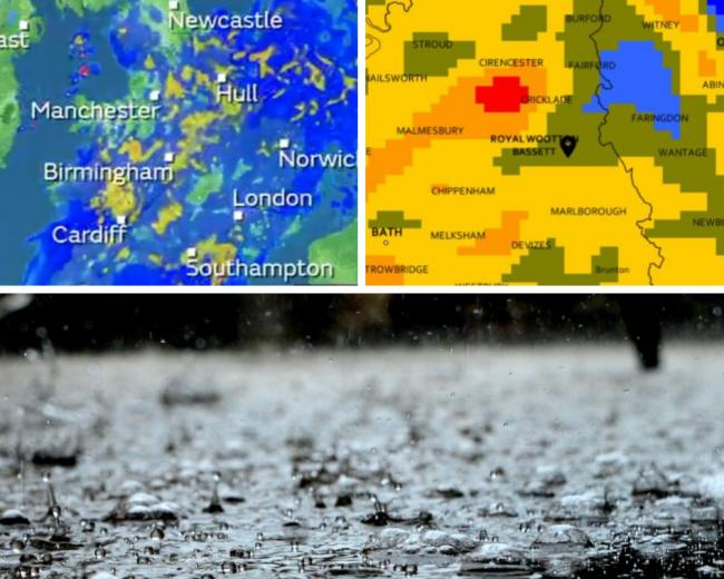 August washout continues - MORE heavy rain on the way