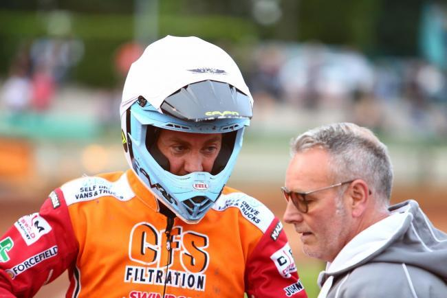 REPORT: Ipswich Witches 37 Swindon Robins 53