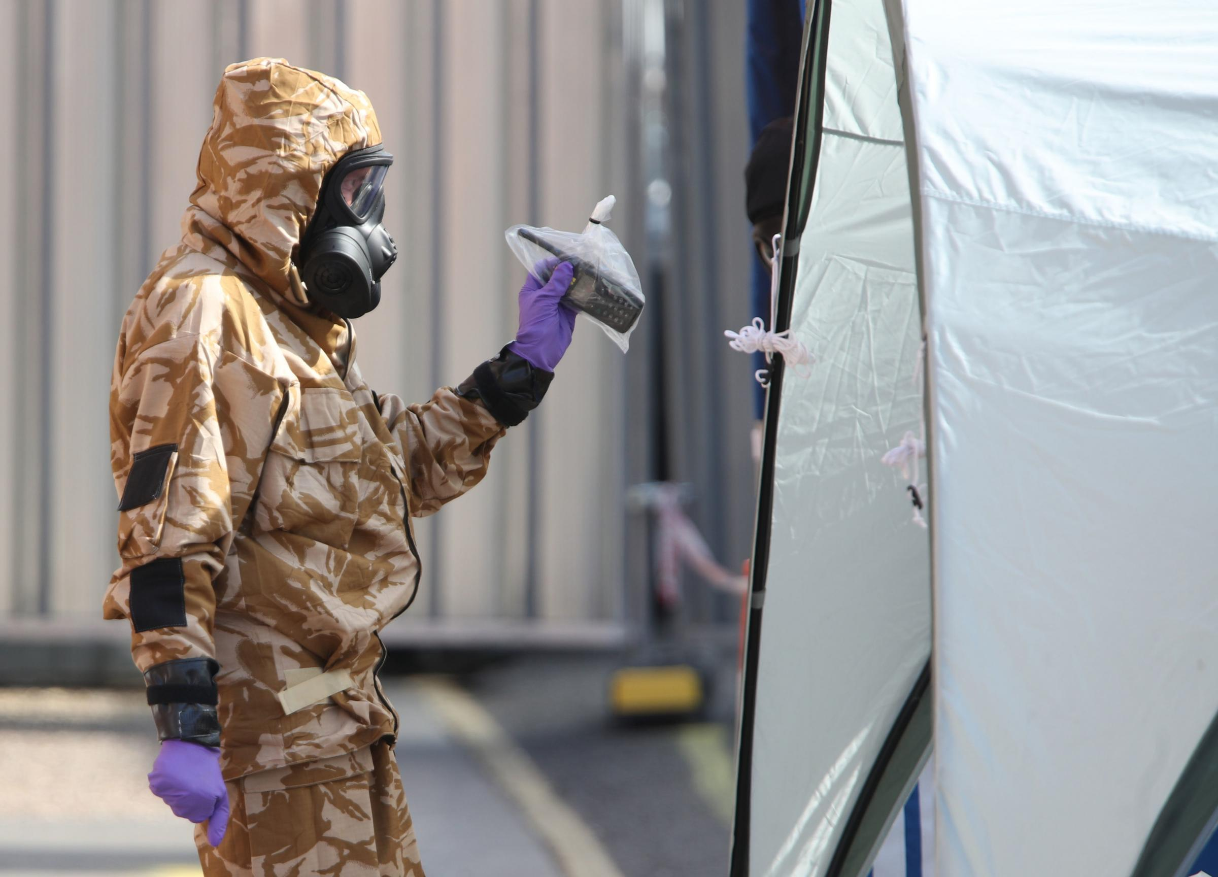 Second Wiltshire police officer contaminated by Novichok