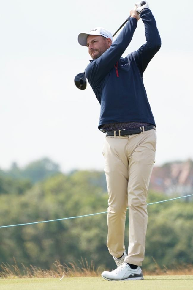 Swindon golfer David Howell