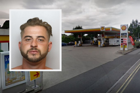 Four years in jail for burglar who urinated in Shell garage's night pay drawer