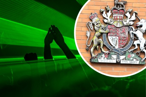 Ketamine raver drove wrong-way up A419, court hears