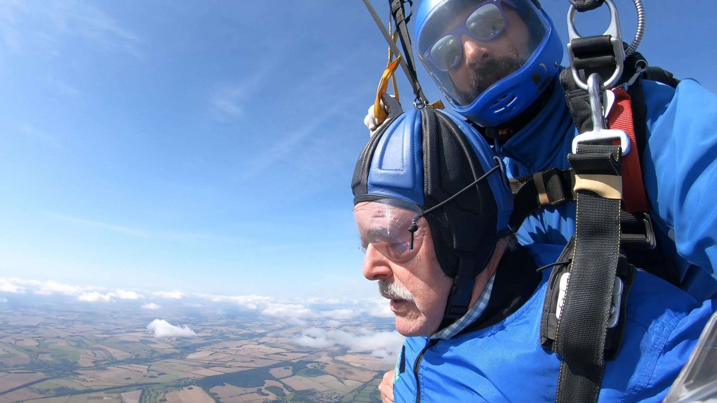 Royal Wootton Bassett OAP conquers fears to help air ambulance