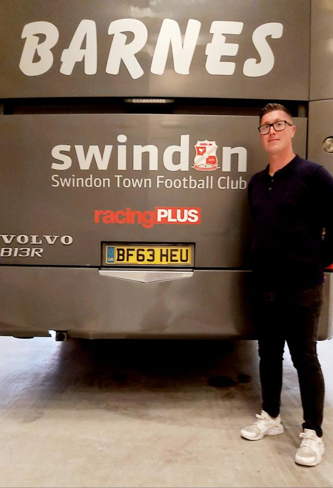 Jamie Lloyd-Davies, new Swindon Town Women manager
