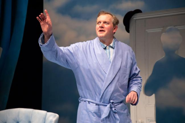 The Life I Lead - Miles Jupp as David Tomlinson Photo: Piers Foley