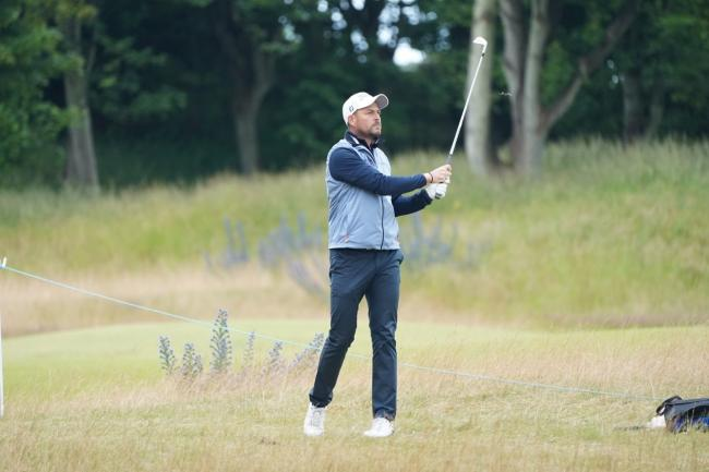 Swindon golfer David Howell in action Picture: ANDY CROOK