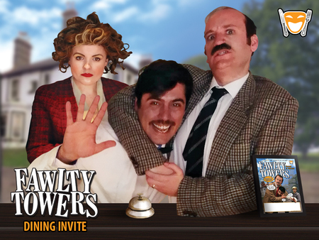 Fawlty Towers Comedy Dinner Show Newbury 28/03/2020