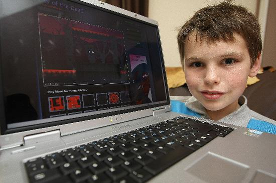 Jack Booth's online games have proved a big success